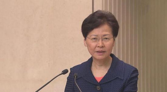 隔空点赞崔大使 林郑月娥:文章令人感动立法势在必行图片