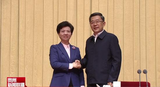 谌贻琴辞去贵州省长职务,李炳军任代省长图片