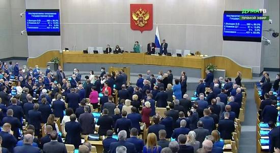 沃洛金连任俄罗斯国家杜马主席