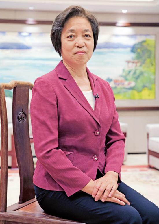 苏辉全国政协副主席,台盟中央主席。摄影/本刊记者 董洁旭