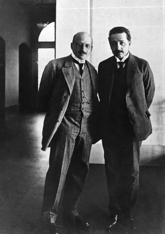 哈伯与爱因斯坦