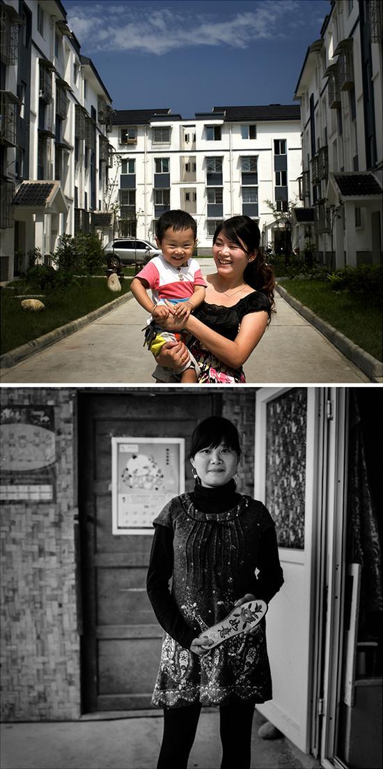 陈丹,5岁女儿遇难,再生育儿子2岁