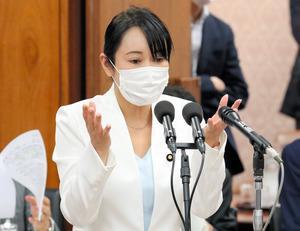 日本法相森雅子(产经新闻)