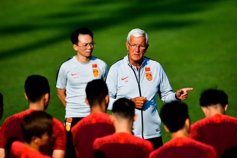 里皮:打造30人球队冲世界杯不担心武磊身体状况