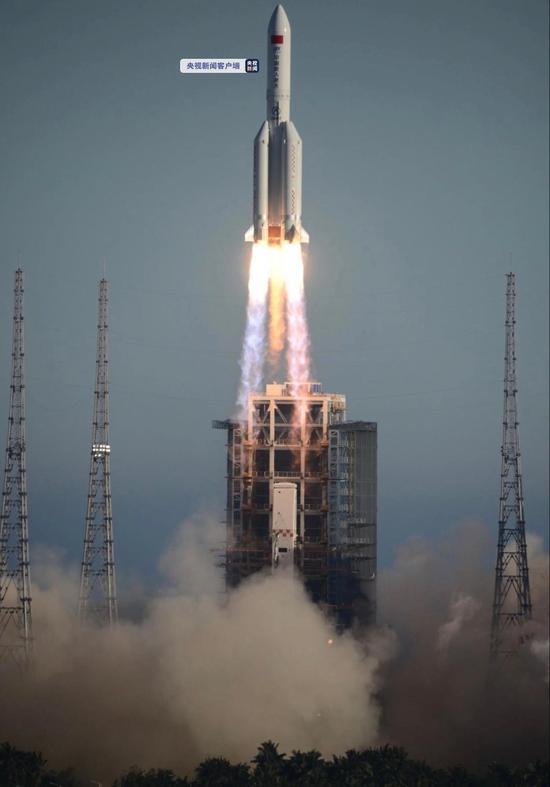 长五B,我国首个一级半构型火箭,到底强在哪?图片