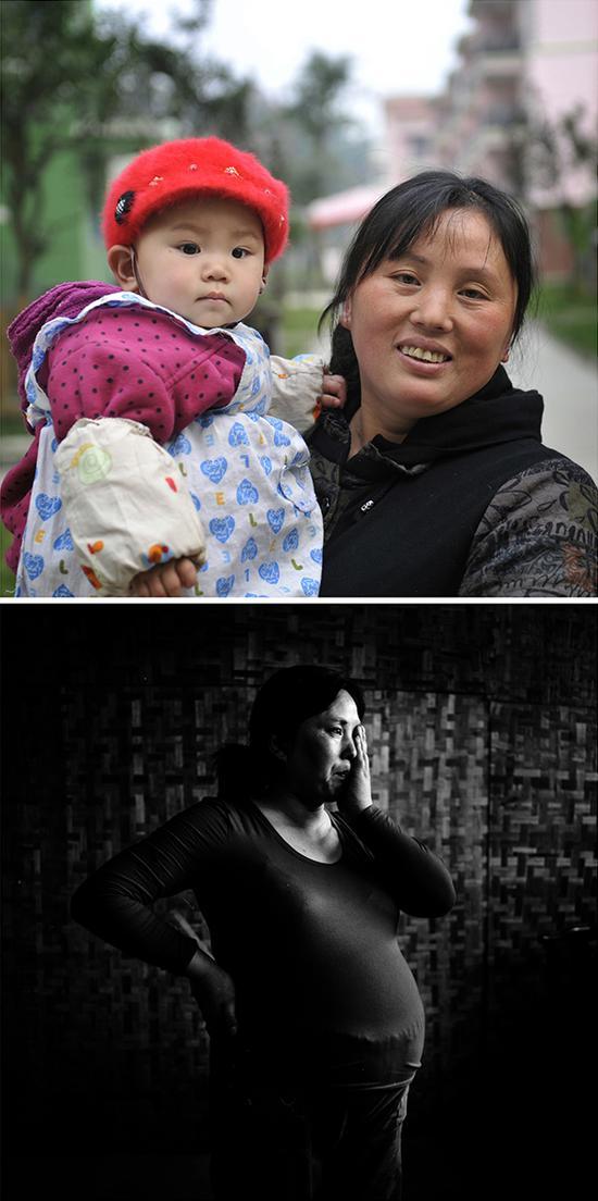 蒋雪兰,再生育年龄35岁,14岁儿子遇难,再生育一个女儿