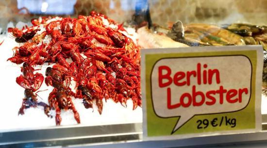 目前,这种小龙虾在德国的售价为每公斤29欧元,约合213元人民币。
