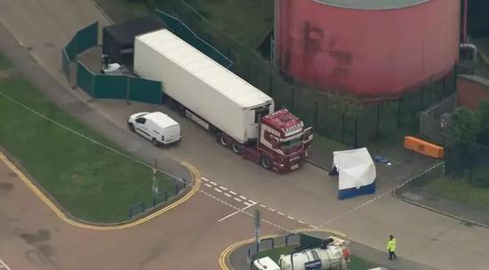 英货车39具尸体都为中国人 比利时与英国联合调查