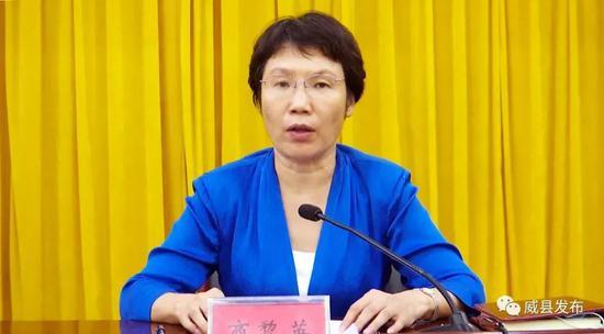 商黎英升任河北威县县委书记 此前任威县县长