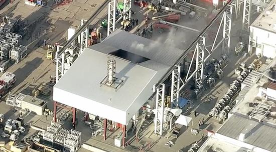 特斯拉弗里蒙特工厂发生火灾,消防员已到场响应