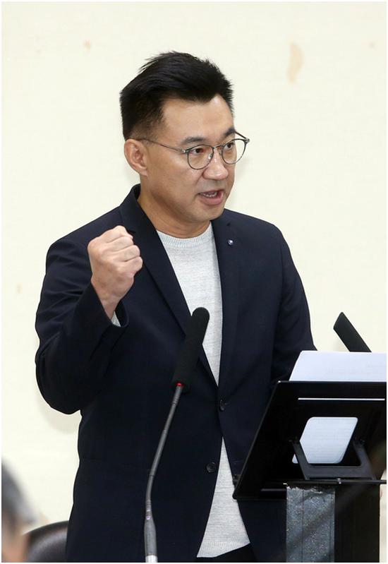 """有人提议中国国民党名称去掉""""中国"""" 国民党主席回应图片"""