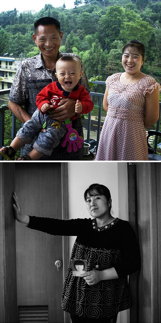 肖芳玉,14岁女儿遇难,再生育儿子1岁