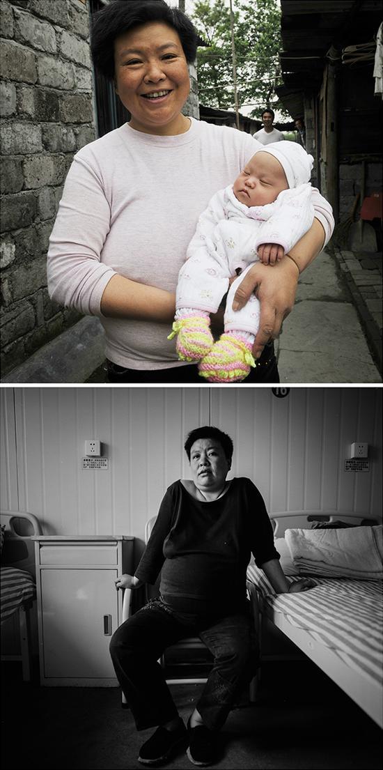黄华丽,再生育年龄43岁,22岁儿子遇难,再生育一个女儿