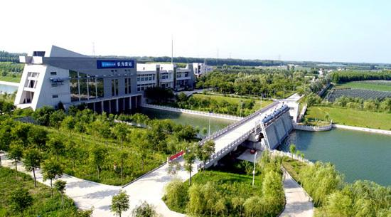 图为南水北段东线工程山东段长沟泵站