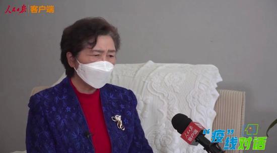 """李兰娟院士:或许武汉在三月底就能""""清零""""图片"""