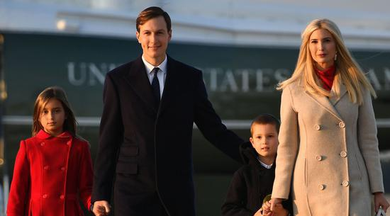 美媒称伊万卡的3个孩子被迫退学 白宫回应了