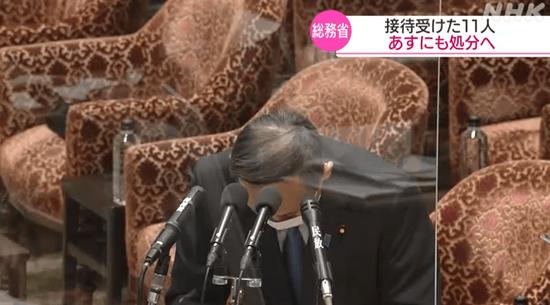 """菅义伟为""""菅公子""""39场饭局道歉!"""