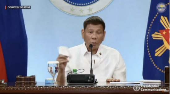 作为菲律宾人,杜特尔特为何认为南海仲裁案裁决该扔进废纸篓?