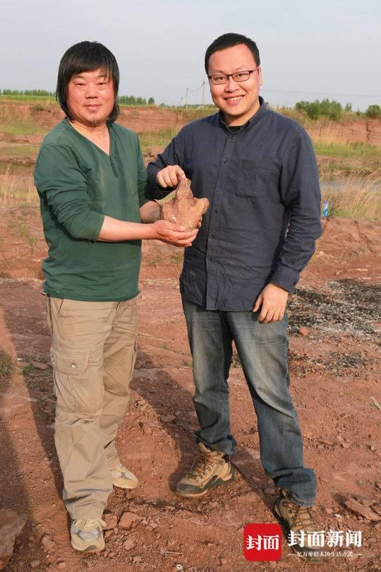 唐永刚(左)与邢立达(右)。摄影 王申娜