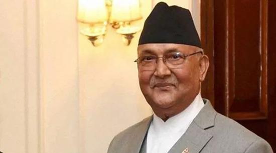▲尼泊尔总理奥利