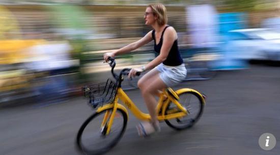 ▲中國共享單車公司,到法國巴黎爭奪地盤  圖據《南華早報》