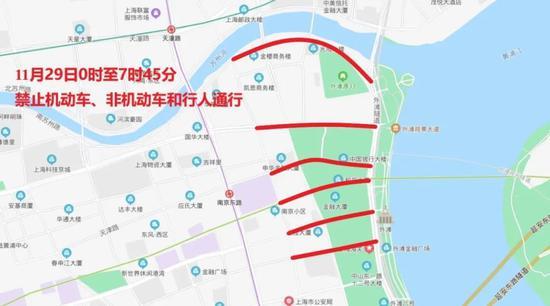 """""""下马""""下周日开跑 上海这些路途将暂时交通控制(图2)"""