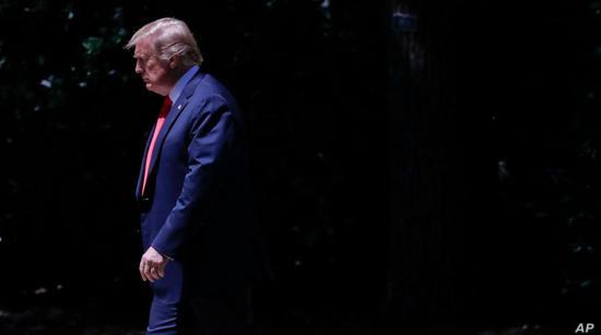 ▲资料图片:美国总统特朗普(美联社)