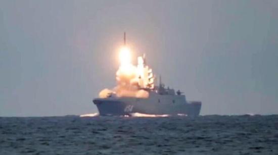 """俄军新锐护卫舰年底前将进行""""锆石""""导弹齐射试验"""