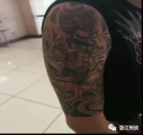 """90后黑老大纹孙悟空 手下""""猪八戒""""""""沙和尚""""图片"""
