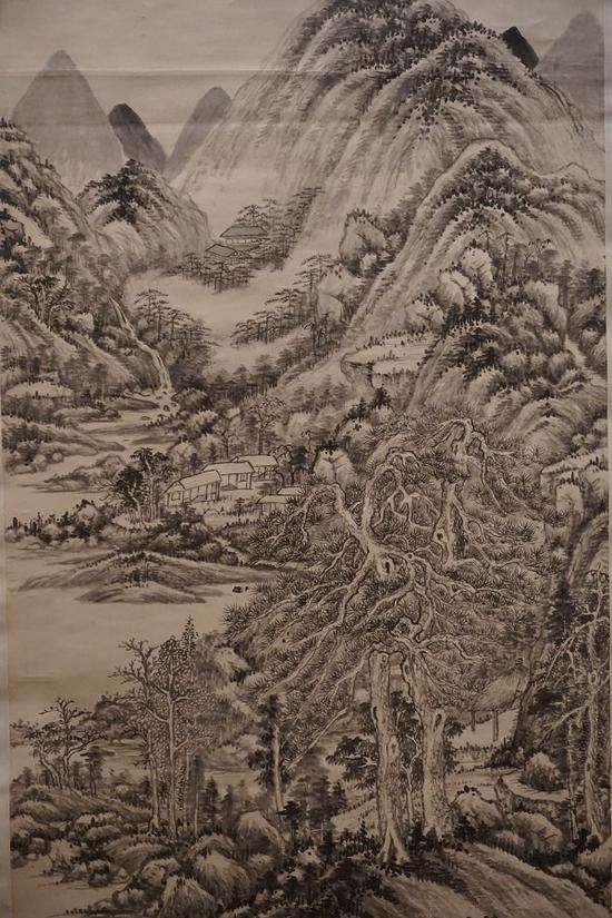 王时敏 《仙山楼阁图》