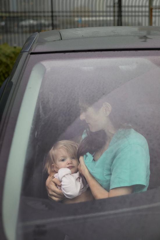 克里斯汀·齐奥布罗有四个孩子。图/纽约时报