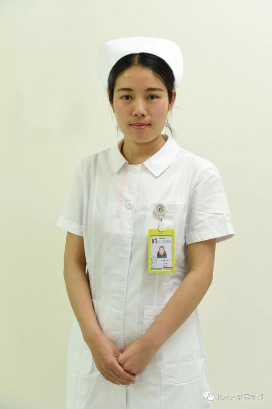 北大肿瘤医院日间病房护士潘丹
