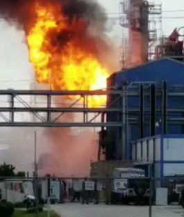 美国得州一处工厂发生爆炸 致20人受伤(图)