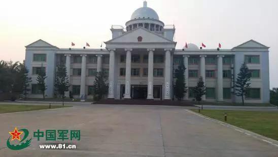 ▲三沙市市政府(中国军网)