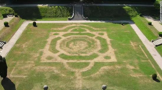 ▲蘭開夏郡一處花園遺蹟  圖據CNN