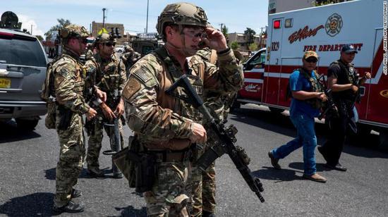 美国得州发生严重枪击案 特朗普回应:非常糟糕|特朗普