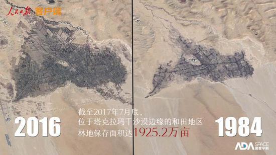 绿色改动中国!50万米地面看32年变化