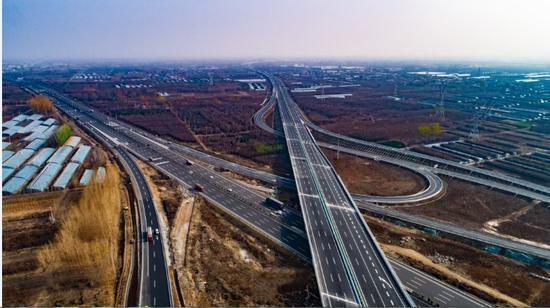 山东济南大东环明天通车,另一条八车道高速也来了图片