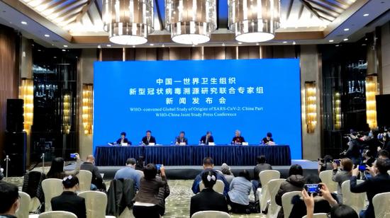 中国-世卫组织新冠病毒溯源发布会来了!信息量很大!图片