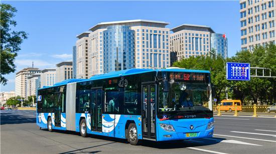 今天12时起北京80条公交线陆续调整运营