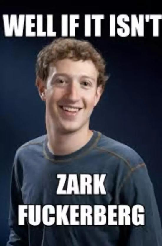 ▲国外网友做的讽刺扎克伯格的表情包