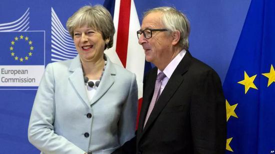 ▲英国首相特蕾莎<span class=