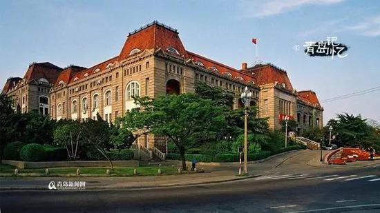 ▵德国胶澳总督府旧址。图片来源:青岛新闻网