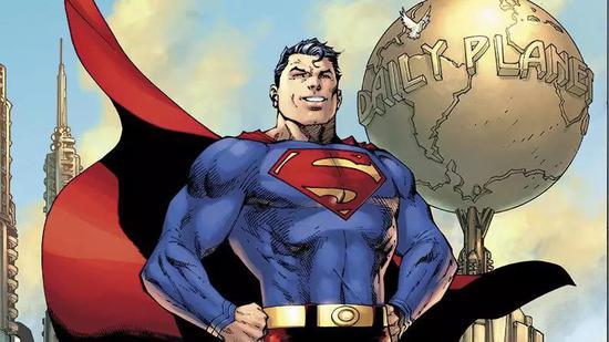 ▲《動作漫畫》封面上的超人(DC漫畫)