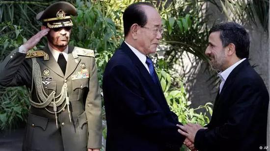 ▲朝鲜一直与伊朗保持良好的外交关系(资料图)