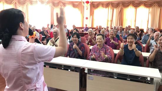 新疆:克拉玛依黑油山老年社区温馨社区幸福长 点亮回忆追青春