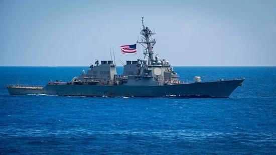 ▲美國軍艦