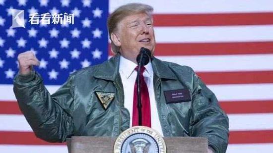 特朗普2018年造访阿萨德空军基地