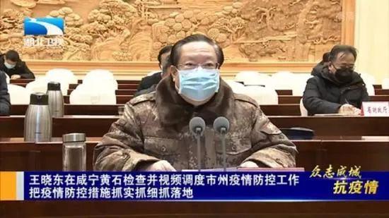 湖北省长:疫情向农村蔓延,工作严重不力的就地免职!图片