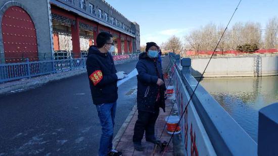 亲水防疫两不误!北运河推行每日限额、领号垂钓|疫情|昌平区|新冠肺炎